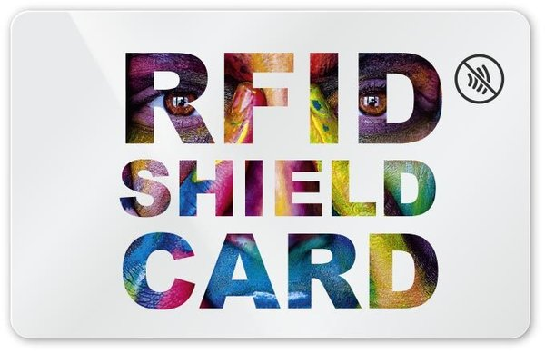 RFID SHIELD CARD - Letters