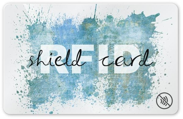 RFID SHIELD CARD - Splash