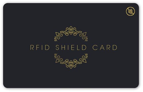 RFID SHIELD CARD - Ornamente